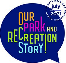 our park and recreation story logo