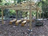 Pergola at York Learning Garden