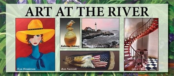 Yorktown's Art at the River Juried Art Show this Sunday, May 2