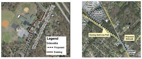Thursday, September 19 Public Meeting re: Proposed Sidewalks on Rt. 17, West Queens Drive