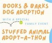 Books and Barks Dog Adoption