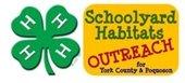 4-H Schoolyard Habitats logo