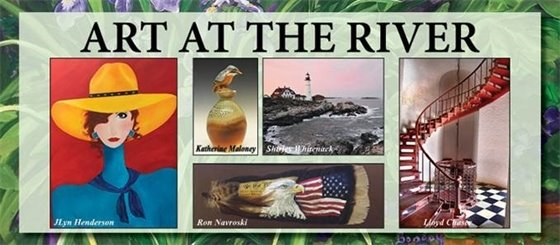 A Grand Display of Local Talent to Line  Riverwalk Landing for Yorktown's Eighth Annual  Art at the River Juried Art Show!