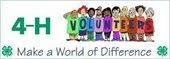 4-H Volunteers Logo