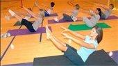 People exercising on floor