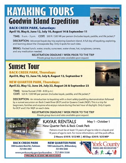 Kayaking Flyer