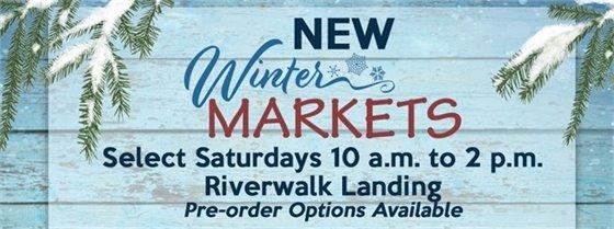 New Winter Markets at Riverwalk Landing