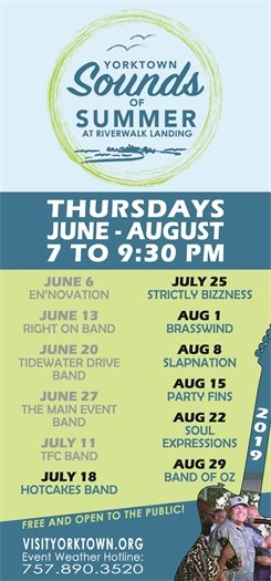 Join us this Thursday, July 18 for the Sounds of Summer concert featuring The Hotcakes Band