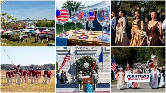 Come Celebrate Yorktown Day this Saturday!