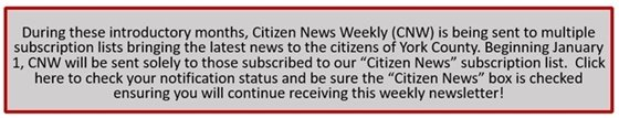 Sign up for Citizen News