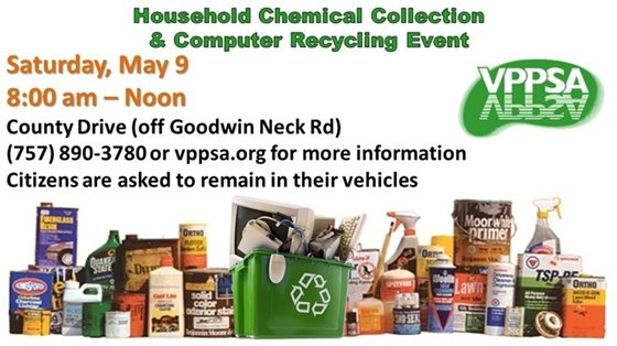 Household Chemical Collection & Computer Recycling Event