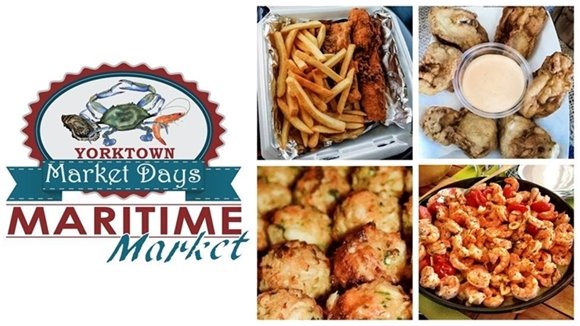 Yorktown is for Seafood Lovers!