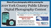 2019 York County Public Library Digital Photography Competition