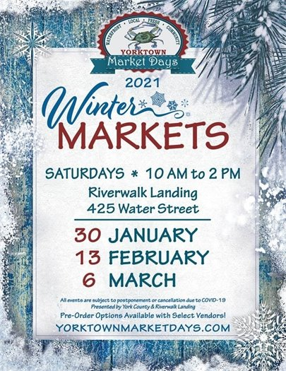 2021 Winter Markets