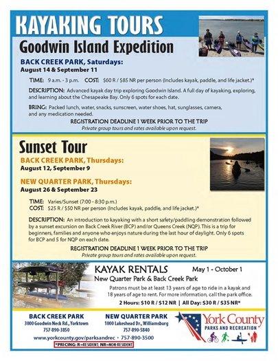 Kayking Tours