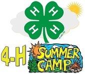 4-H Summer Camp Logo