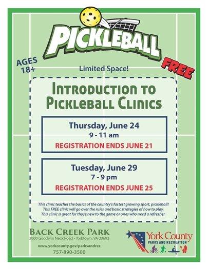 Pickleball Flyer