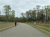 Social distancing while walking
