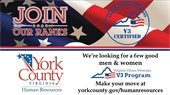 York County is now a V3 Certified Organization
