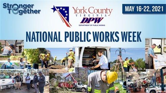 National Public Works Week - Stronger Together