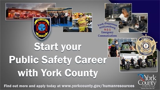 Start your Career with York County