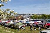 Yorktown's Award-Winning Farmers Market Kicks  Off an Exciting New Season at the Waterfront!