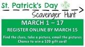 St. Patrick's Scavenger Hunt