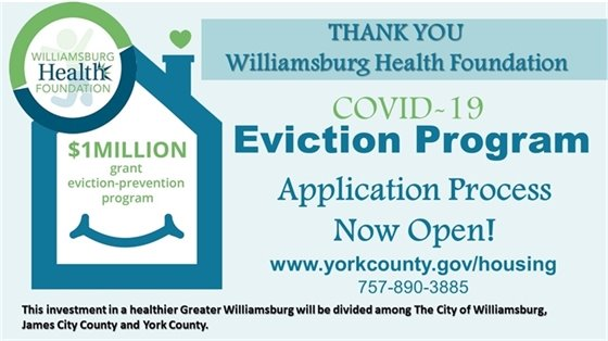 Covid-19 Eviction Program - Application Process Now Open!