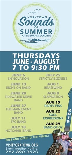 Join us Thurs., August 15 for the Sounds of Summer concert with Party Fins
