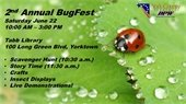 BugFest Returns to Tabb Library