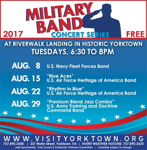 2017 Military Band Concert Series
