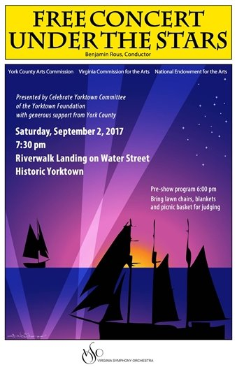 Free Concert Under the Stars - Virginia Symphony