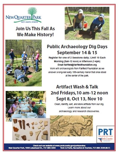 Public Archaeology Dig Days
