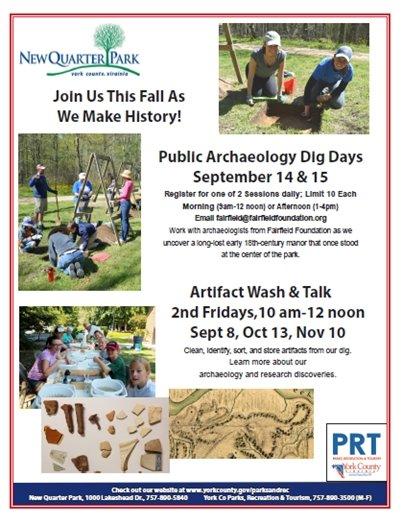 Public Archaeology Dig Days