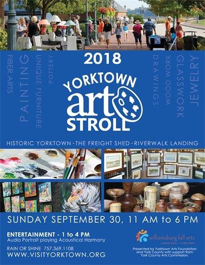 Yorktown Art Stroll set for this Sunday, September 30
