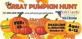 York County's First Great Pumpkin Hunt Oct. 27
