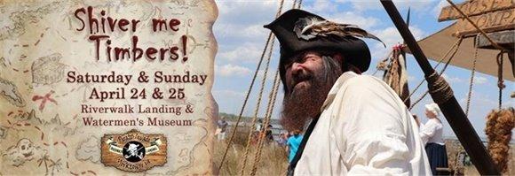 Pirates Invade Yorktown this weekend April 24 & 25