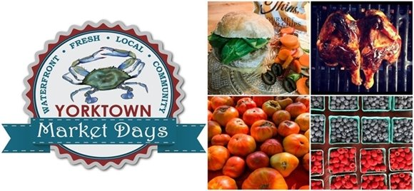 Shop Yorktown Market Days to Plan the Perfect Labor Day Cookout!