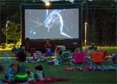 Movies in the Parks event at the McReynolds Athletic Complex prior year