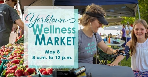 Learn How to Improve Your Health at the Wellness Market, May 8