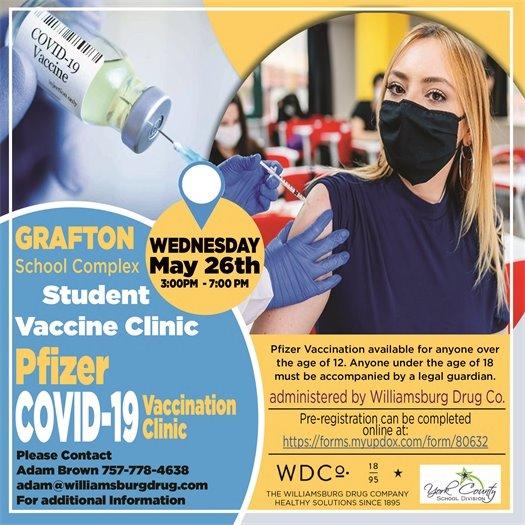 Grafton School Complex Student Vaccine Clinic