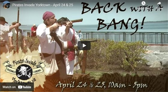 Pirates Invade Yorktown