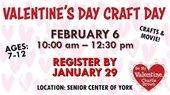 Valentine's Day Craft Day