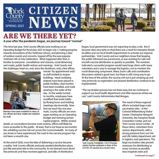 Spring 2021 Citizen News