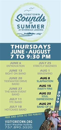 Join us this Thursday, August 8 for the Sounds of Summer concert featuring Slapnation