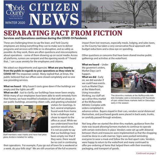 2020 Winter Citizen News