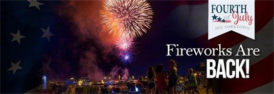 Fireworks are back!