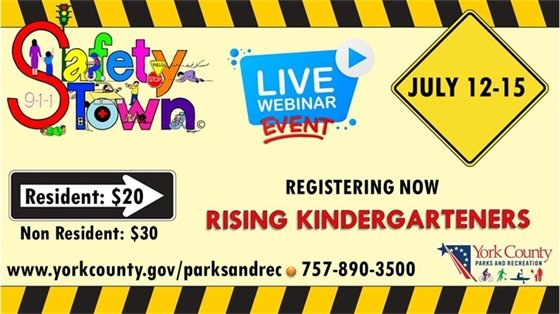 Safety Town Live Webinar Event - July 12-15