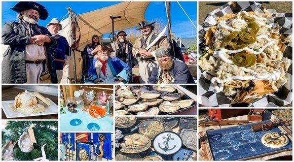 Yorktown's Maritime Market Features Seafood, Nautical Art, and Pirates!