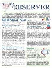 Click for The Observer Newsletter